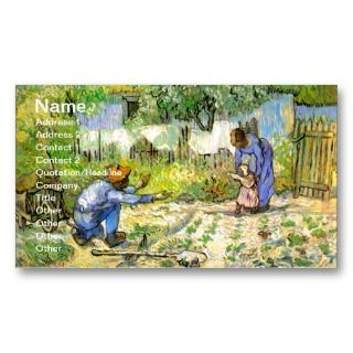 Vincent van Gogh Fine Art Business Card Templates