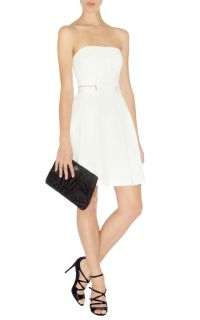 BNWT Karen Millen White Dress DN229 Size 10