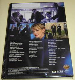 COLD CASE DVD Kathryn Morris ~ 8 JOHNNY CASH SONGS, 3 episodes, Season