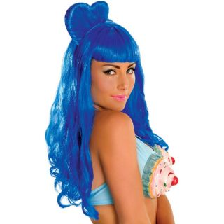 Katy Perry California Gurl Blue Wig Adult Costume