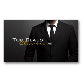Cleaners Inc. /Dry Cleaning Business Card Template