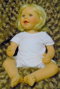 Heart Soul Hailey by Artist Sybil Sauer 24 Toddler Girl Doll Vinyl