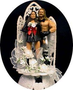 World Wrestling Wedding Cake Topper Mr MS Burchill