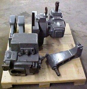 Kearney Trecker 307 s 12 Universal Horizontal Milling Machine Tooling