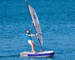 Multisport 270   Inflatable Sail boat  Windsurfer  Towable  Kayak USED