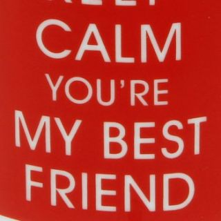 Keep Calm & Carry On Keep Calm Youre My Best Friend Mug