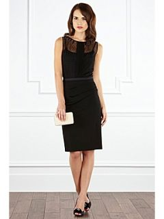 Coast Ceri draped pencil skirt Black