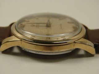 Classic 1956 Gold Capped Omega Seamaster Automatic Watch Serviced
