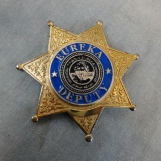 Eureka Deputy Andy Kavan Smith Screen Used Deputy Badge Name Tag Multi
