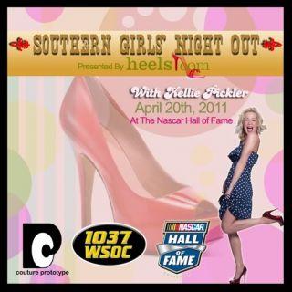 Kellie Pickler Autograph Signed Red High Heel Shoe