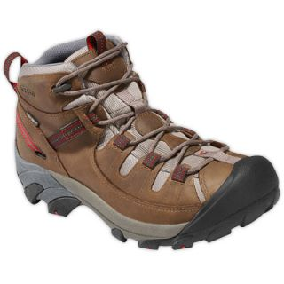 Keen Mens Targhee II Mid Waterproof Hiking Boots Walnut