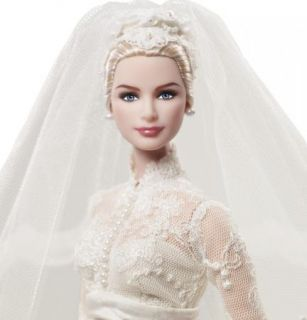 Barbie Doll Grace Kelly The Bride Doll Silkstone Gold Label 2011 New