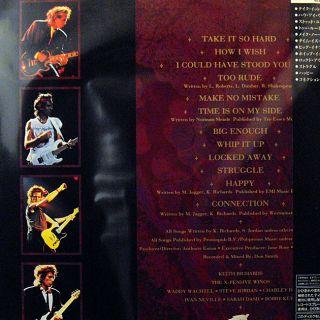 Japan LD Keith Richards Live Hollywood Palladium 1988