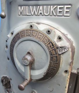 Kearney Trecker Milwaukee 15 5 x 64 Horizontal Milling Machine K