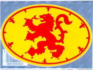Royal Scotland Standard Flag Scottish Decal Car Sticker