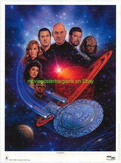 Star Trek Gallery Print Movie Poster Keith Birdsong Art