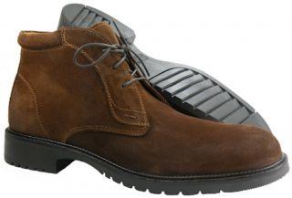 New $165 Johnston Murphy Kennard Blucher Men Boots US 9 5 Rust