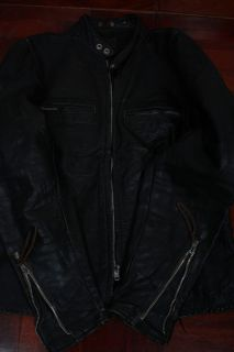 Vtg 60s Kehoe Cafe Racer Steerhide Leather Motorcycle Biker Jacket