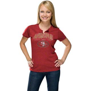 San Francisco 49ers Womens Champion Swagger II Red T Shirt