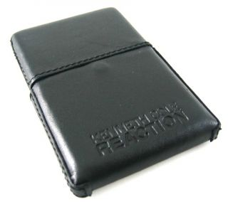 Kenneth Cole Reaction Black Leather Business Card Case