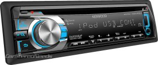 New Kenwood KDC 352U Car CD MP3 WMA Player Stereo USB Aux Input iPod