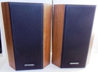 Vintage Kenwood LSK06S LSK 06S 4 40W Bookshelf Speakers