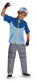 Pokemon Ash Ketchum Child Costume