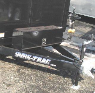 New 2012 Sure Trac 6x10 10K Deckover Dump Trailer