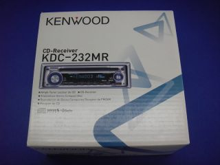 Kenwood in Dash Car Marine CD Audio Stereo Receiver KDC 232MR New