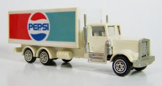 Corgi Kenworth Pepsi Delivery Truck Part 91160 Diecast Box Dated 1992