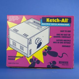 Kness Ketch All Multiple Catch Mouse Trap