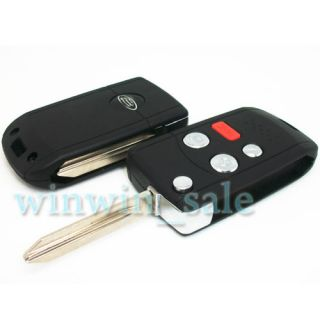 Folding Flip BLANK REMOTE KEY FOB CASE SHELL for FORD Expedition Focus