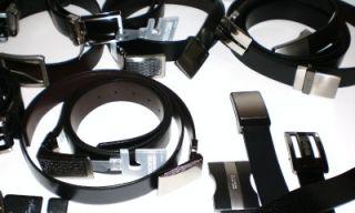 20 Wholesale Lot Kenneth Cole Leather Mens Belt Reversible Black Brown