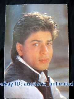 Bollywood Actor Shah Rukh Khan Shahrukh Khan India RARE Old Post Card