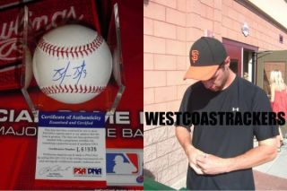 BRANDON BELT SIGNED SAN FRANCISCO GIANTS MLB BASEBALL, PSA/DNA #L61935