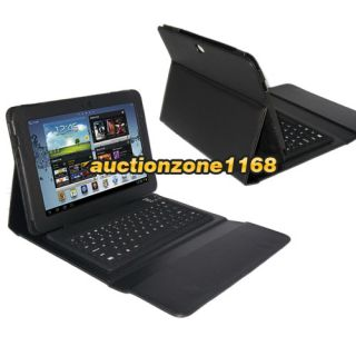 Wireless Bluetooth Keyboard Case Stand for Samsung Galaxy Note 10 1