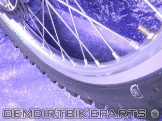 Yamaha YZ250F Wheel Set Excel Front Rear YZ125 YZ250 YZ450F 02 03 04