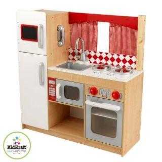 KidKraft Suite Elite Kids Imaginative Pretend Play Wood Kitchen 53216