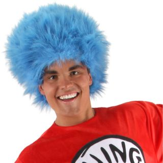 Dr Seuss Thing 1 and 2 Wig Adult Halloween Costume