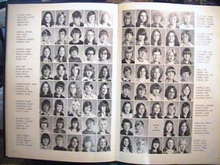 75 INDIAN RIFFLE JR HIGH SCHOOL KETTERING OHIO YEARBOOK HARD COVER VGC