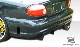 1998 2001 Kia Sephia Duraflex R34 Rear Bumper Body Kit