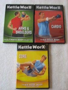 Kettleworx Workout 13 DVD Set Kettlebell