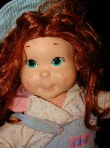 1990 Playskool Kid Sister My Buddy Doll Red Hair