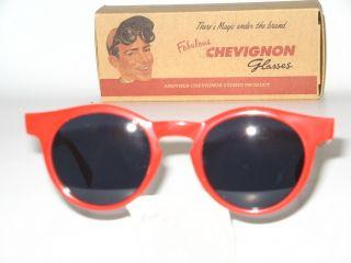 Pretty Red Auth Chevignon Kids Sunglasses