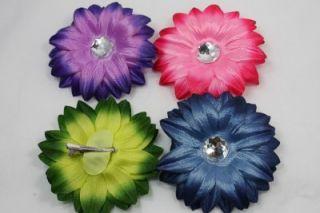 Kids Girls Toddler Flower Hair Pins Clips Accessories