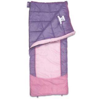 Eureka Kids Lightning Bug 45 Degree Sleeping Bag With Premium