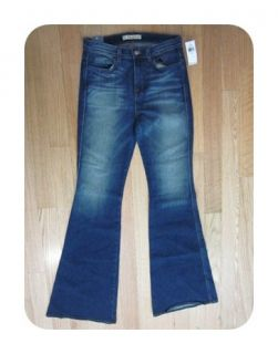 New J Brand Lotus Blue Kiki High Rise Wide Leg 2244C032 Jeans 28/ 6 $