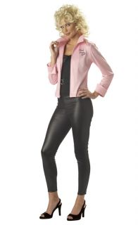Brand New Women Pink Ladies Jacket Official Grease Costume