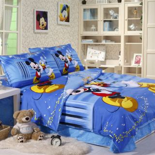 Partner Mickey Mouse Bedding Sets Twin Full Kids Bedding Set