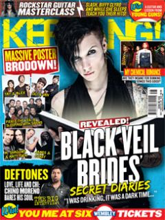 KERRANG 1443 Black Veil Brides My Chemical Romance Deftones You Me at